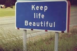 beautiful life sign