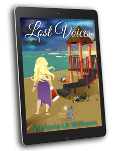 3D cover, Lost Voices, ereader
