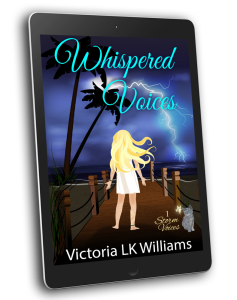 3D cover Whispered Voices, ereader